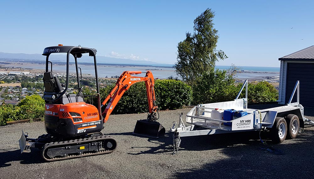 Excavator, Digger and Truck Hire Nelson and Richmond